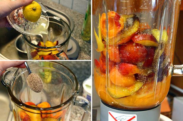 früchte für sangria