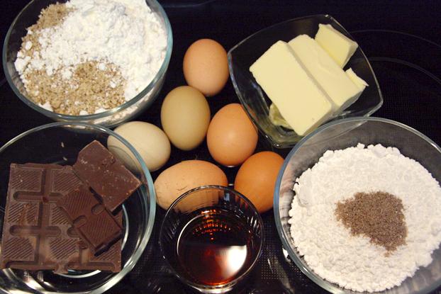 Cognac kuchen schokolade