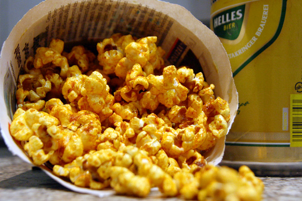 Barbecue Popcorn - vanillakitchen