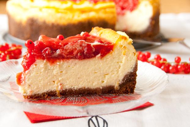 Mascarpone Cheesecake Mit Beerentopping Vanillakitchen