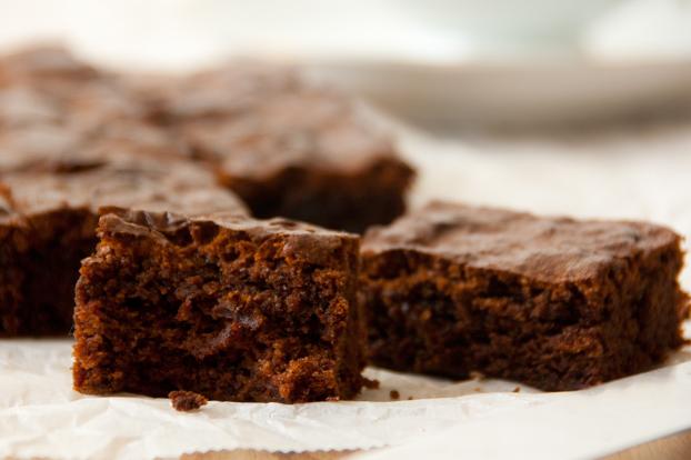 Flufffige Brownies mit Ovomaltine Geschmack