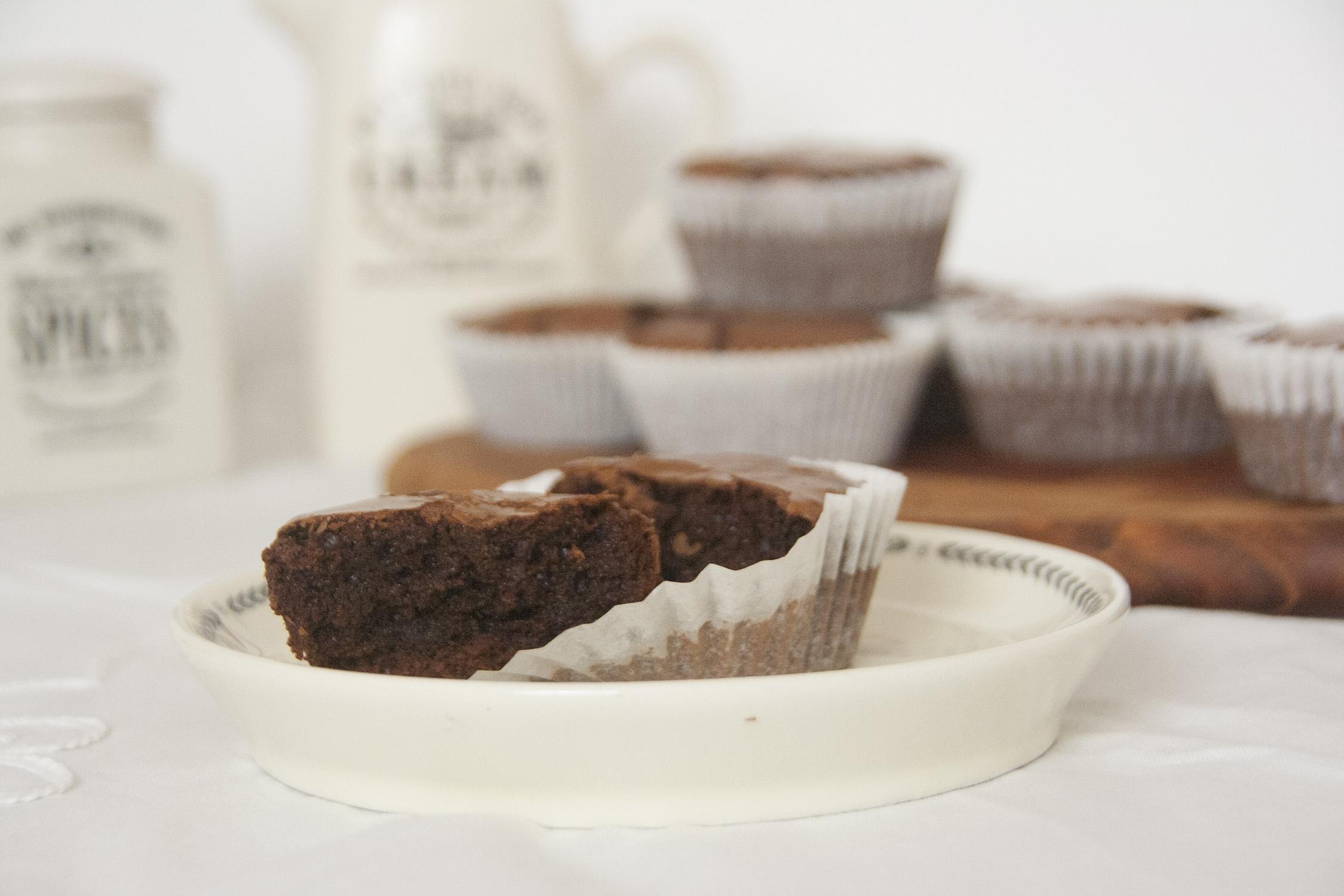 Die Einzig Wahren Brownie Muffins Vanillakitchen